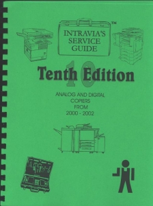 Intravia's 10th (2000-2002) copier service guide