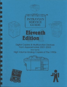 Intravia's 11th (2001-2003) copier service guide