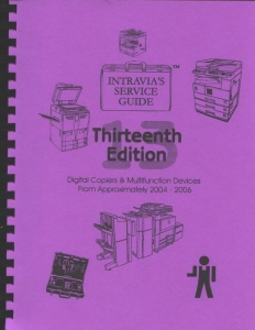 Intravia's 13th (2004-2006) copier service guide