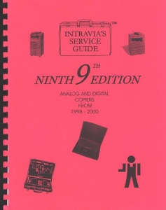 Intravia's 9th (1998-2001) copier service guide