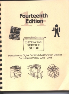 Intravia's 14th (2006-2008) copier service guide