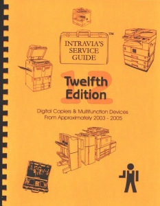 Intravia's 12th (2003-2005) copier service guide
