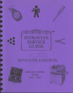 Intravia's 7th (1995-1997) copier service guide