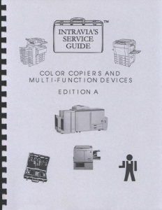 Intravia's Color Copiers and Multifunction Devices - Edition A